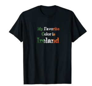 Favorite Color Is Ireland